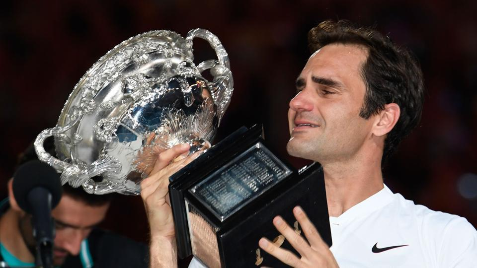 Roger Federer overcame Marin Cilic in five sets to win the Australian Open title for the sixth time.