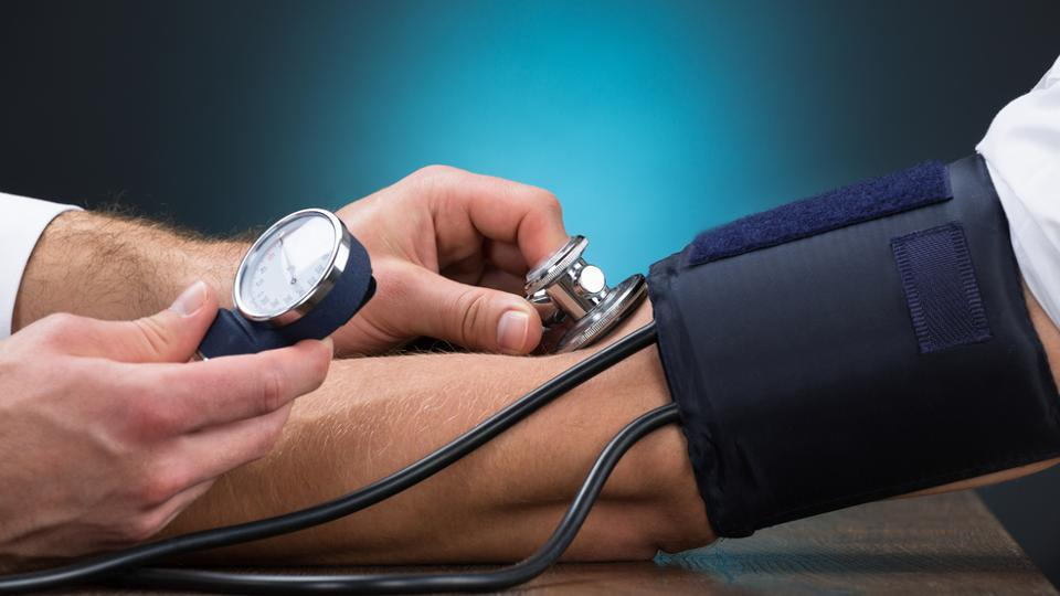 Once blood pressure reaches about 180/110 mmHg, it is considered a medical emergency is known as a hypertensive crisis.