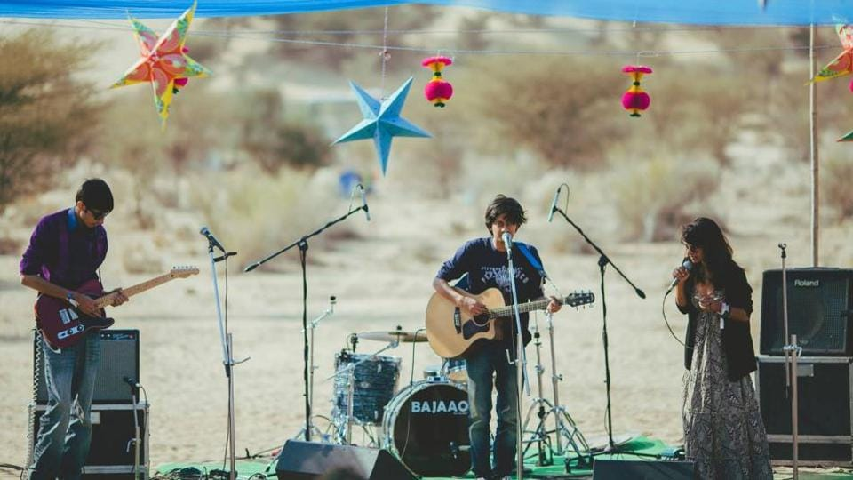 Ragasthan is a desert music festival where music, art and camping come together.