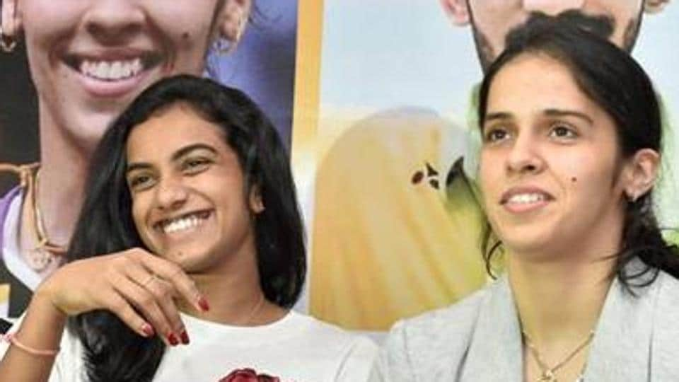 Saina Nehwal (L) and PV Sindhu will start as favourites at the India Open badminton tournament starting from Tuesday.