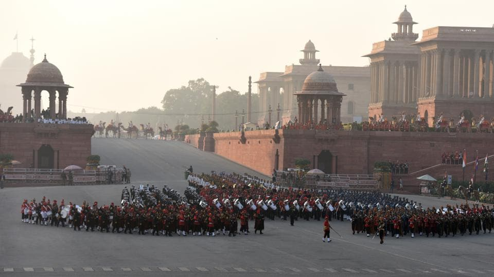 Republic Day 2018 ends with mesmerizing, poignant 'Beating Retreat'