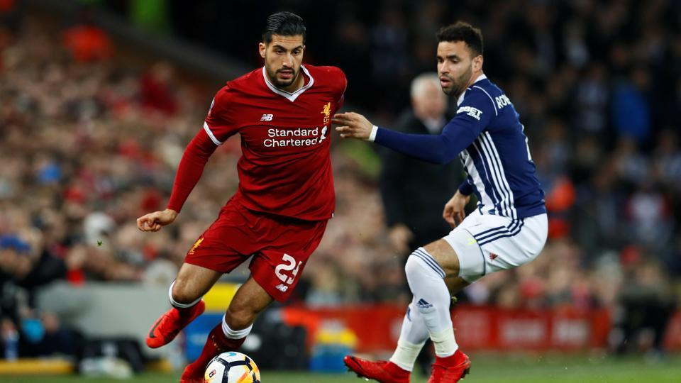 Juventus appear confident of their chances of signing Emre Can (L) from Premier League side Liverpool FC.