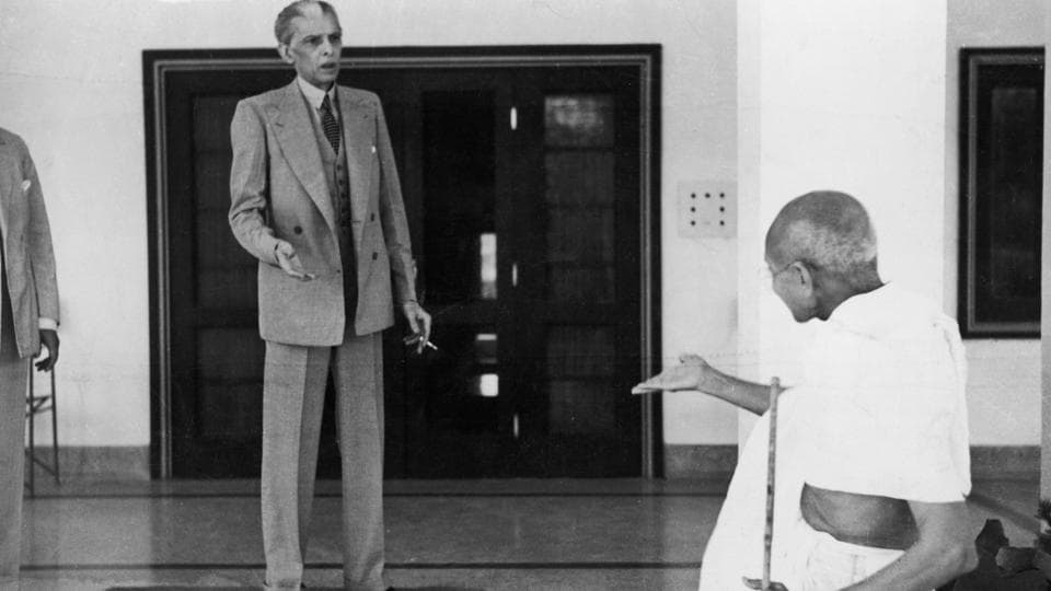 Gandhi leaves the home of Muhammad Ali Jinnah (left), en route to Viceroy's Lodge in Delhi, November 1939. The passing years saw a growing Hindu-Muslim antagonism and a rift between the two lawyers, and members of the same Indian National Congress. Jinnah acceded to the politics of a two-nation state and helmed the Muslim League while Gandhi stayed with the Congress and worked for a secular India. (Kulwant Roy / Hulton Archive / Getty Images)