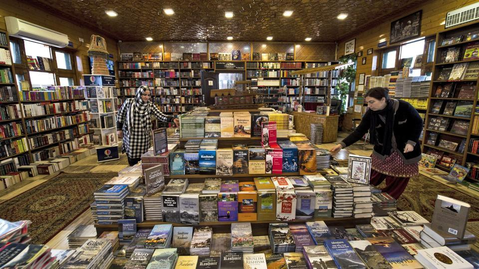Representing the fifth generation of his family in the business, Ahmed says interest in reading is steadily picking up in Kashmir and has great prospects. (S Irfan / PTI)