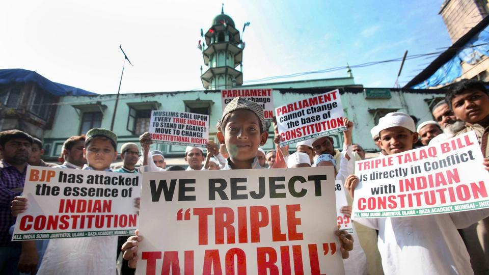 Triple talaq bill,Congress,BJP
