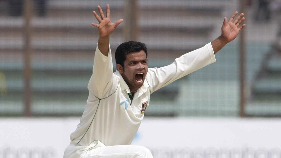 Abdur Razzak hasn't played a Test match for the Bangladesh cricket team since February 2014.