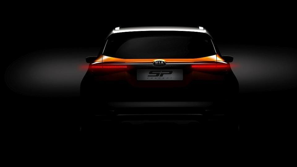 Kia SP SUV Concept Teased, To Debut At Auto Expo 2018