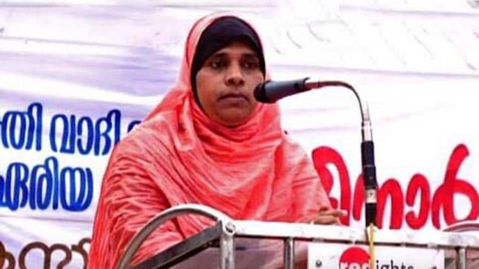 Speaking to reporters K Jamitha said there was no impediment in Islam against women imams, it only refers to momins (faithful) men and women and so what she did was in keeping with the spirit of Islam.