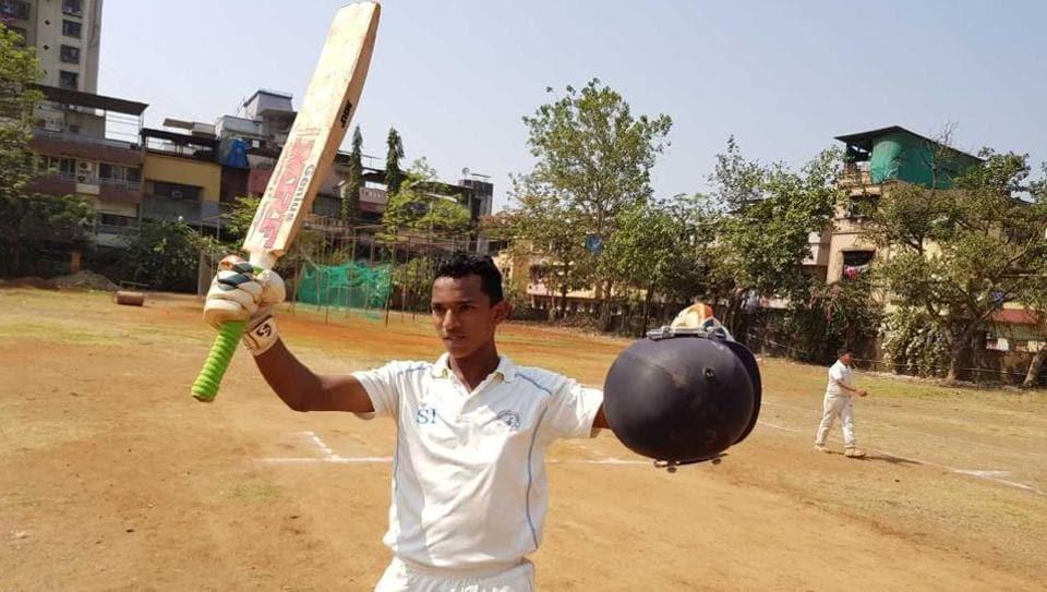 Mumbai youngster Tanishq Gavate scored 1,045 runs in the Under-14 Navi Mumbai Shield invitational cricket tournament for school teams at Kopar Kahirane, Navi Mumbai, on Tuesday.