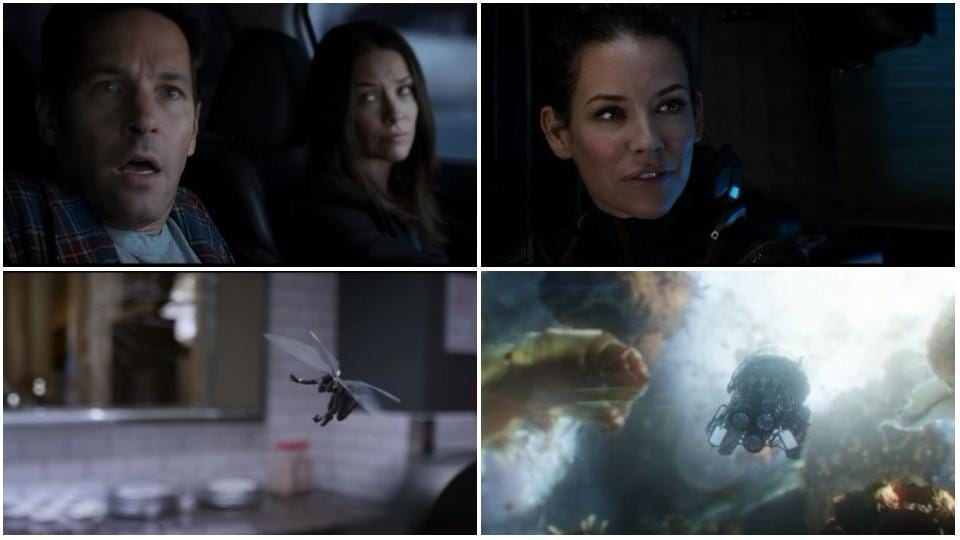 Ant-Man and The Wasp are on a mission to find the real Wasp.