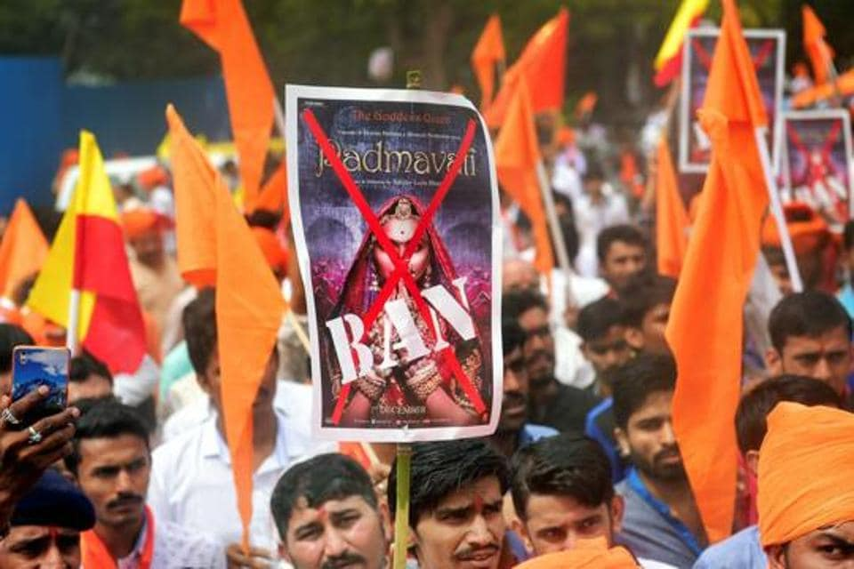 Last year, a vociferous protest by Rajputs over the film 'Padmavat' led to it being banned in Rajasthan for distorting facts and hurting sentiments.