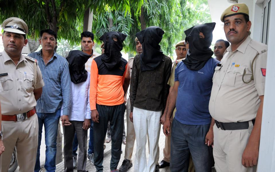 Gurgaon police had arrested four of the Axle gang in connection with the Mandpura rape and robbery case. They allegedly confessed to their involvement in the Dingarheri case as well. The CBI has also named the four in its chargesheet.