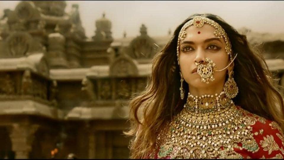 Deepika Padukone plays the titular character of Rani Padmini in Sanjay Leela Bhansali's Padmaavat.