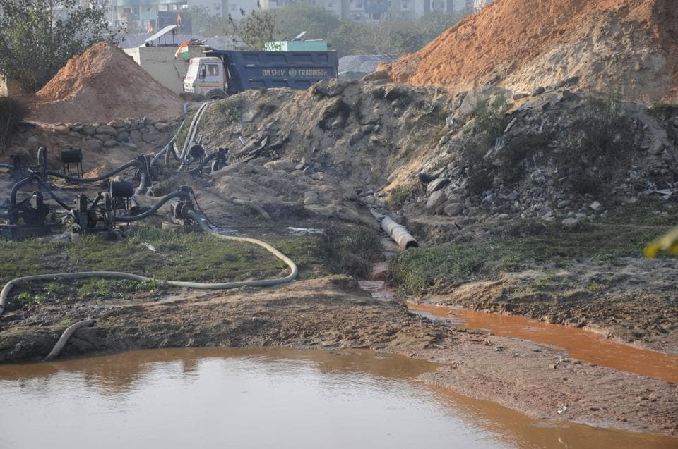 Ghaziabad,Hindon floodplains,hindon
