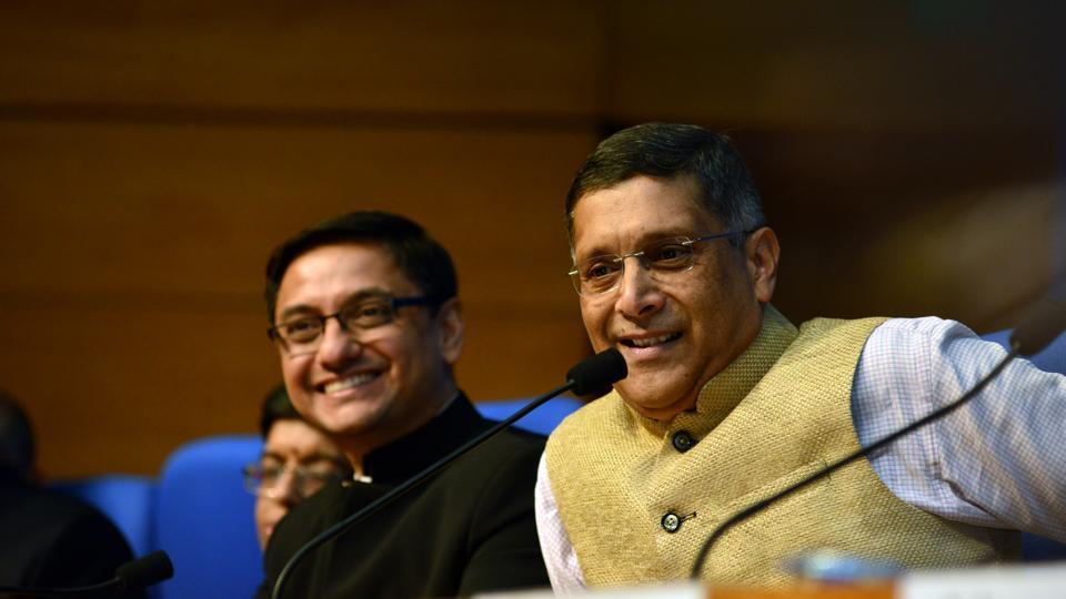 Arvind Subramanian,Chief Economic Adviser,Economic Survey