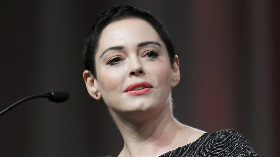 Rose McGowan,Harvey Weinstein,Brave