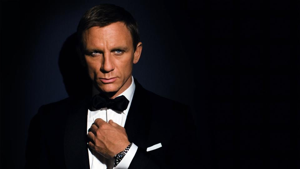 c828c20594bb Vir Sanghvi,Black tie,bandhgalla. Daniel Craig as James Bond in his  'costume', the dinner jacket.