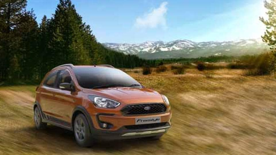 ford cuv freestyle launched in india to hit indian roads by april 2018 autos top. Black Bedroom Furniture Sets. Home Design Ideas