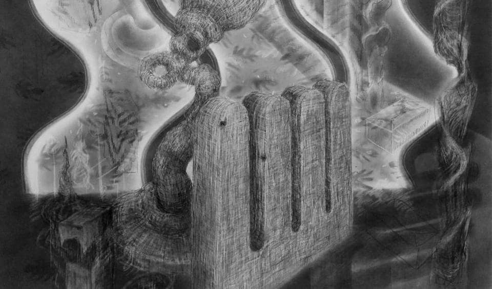 Artwork by Elizabeth Drury that will be on display at Akara Art till March 17.