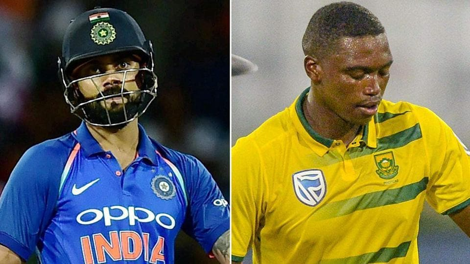 South Africa's Lungi Ngidi, who dismissed Virat Kohli twice in the Test series, will look to get the better of the India captain (again) in the six-match ODI series, starting Thursday.