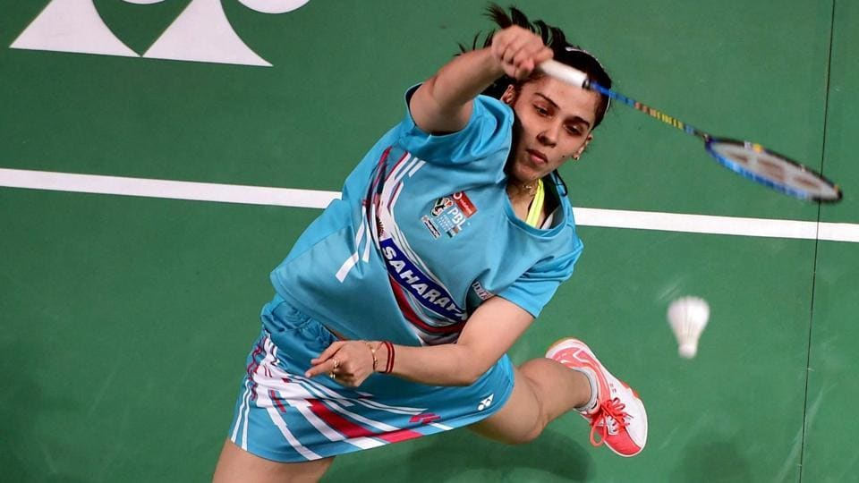 Saina Nehwal, who recently finished runners-up at the Indonesia Masters badminton, is currently playing in India Open.