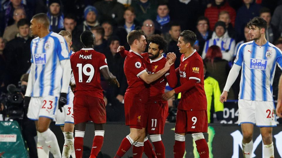 Liverpool back to winning ways with commanding 3-0 victory over Huddersfield