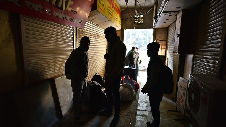 Sealing of the commercial establishments had started on December 22 from Defence Colony Market, on the directions of the Supreme Court-appointed monitoring committee.