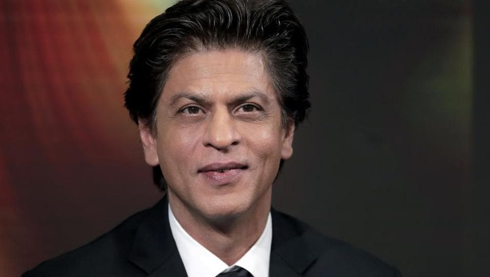 Shah Rukh Khan attends a conversation on creating change in India through women's empowerment, as part of the annual meeting of the World Economic Forum in Davos, Switzerland.