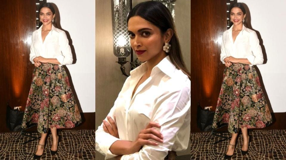 If your office attire could use a sophisticated, high fashion refresh, take a cue from actor Deepika Padukone.