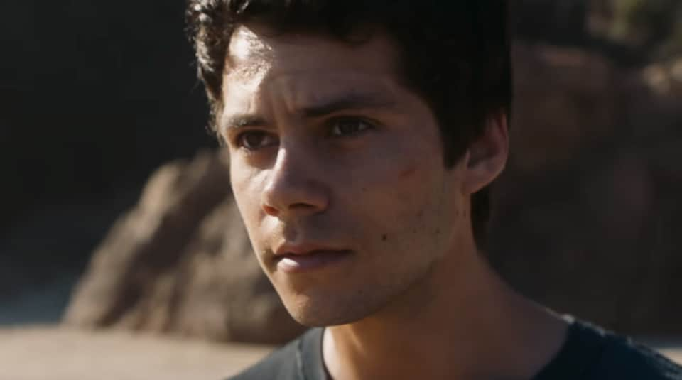 Dylan O'Brien in a still from Maze Runner: The Death Cure.