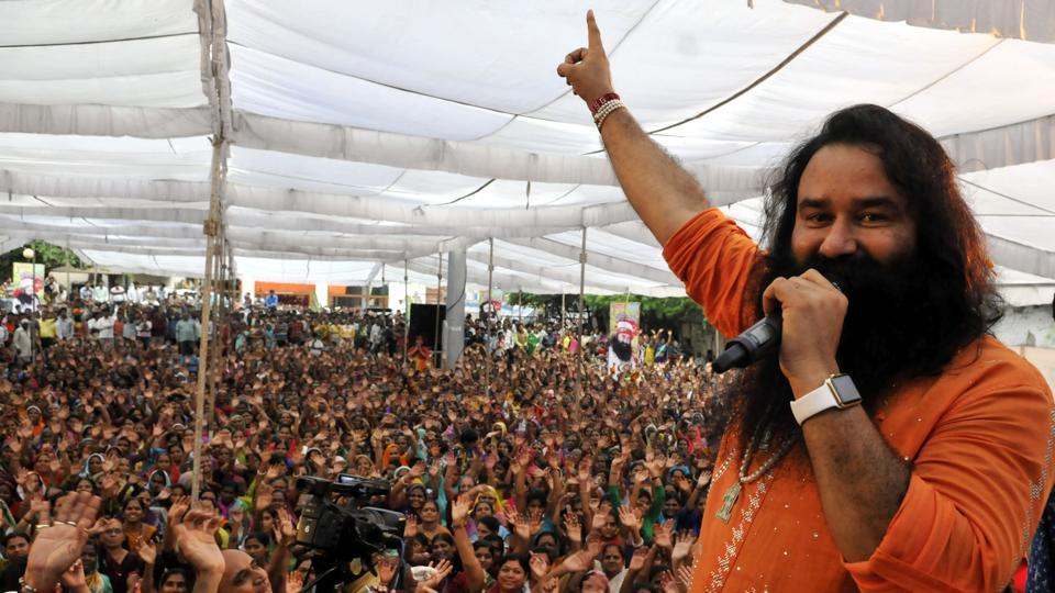 Fresh trouble brew for Gurmeet Ram Rahim, as the CBI on Thursday submitted a charge sheet against the Dera Sacha Sauda chief, and two doctors for castration of his followers inside the sect's premises. (Arun Mondhe / HT Archive)