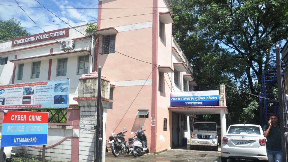 The cyber crime police station in Dehradun.