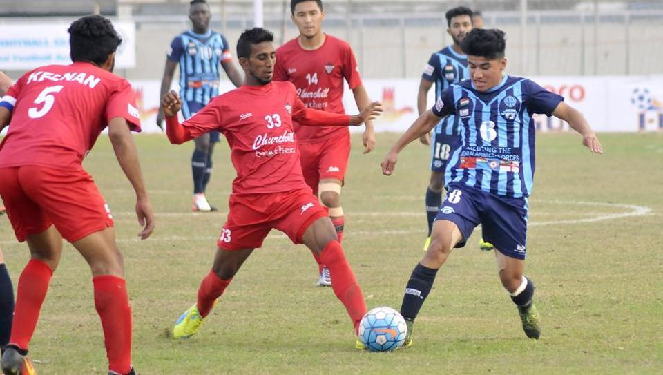I-League leaders Minerva Punjab will face bottom-placed Churchill Brothers on Friday.