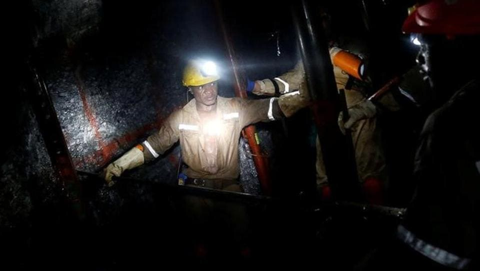900 workers trapped in South African gold mine after outage