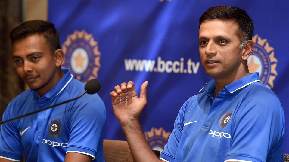 Former captain Rahul Dravid is now the coach of the India team taking part in the ICC U-19 cricket World Cup and also the India A  outfit.