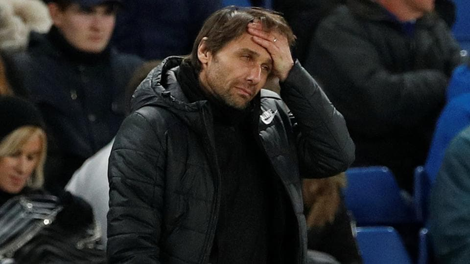 "Finishing in the Premier League top four would be a ""great success"" for Chelsea this season, said Antonio Conte after his side's 3-0 loss to Bournemouth."