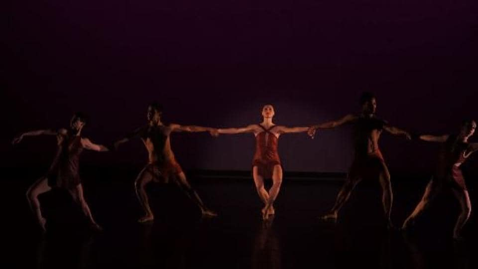 Five members of Battery Dance group, along with an Indian dancer, performed 'Shakti: A Return to the Source.