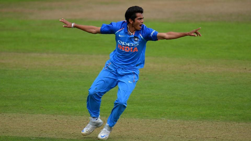 Speedster Kamlesh Nagarkoti, who has been picked by Kolkata Knight Riders (KKR) for the upcoming edition of the Indian Premier League (IPL), has grabbed seven wickets in the ongoing ICC Under-19 Cricket World Cup.