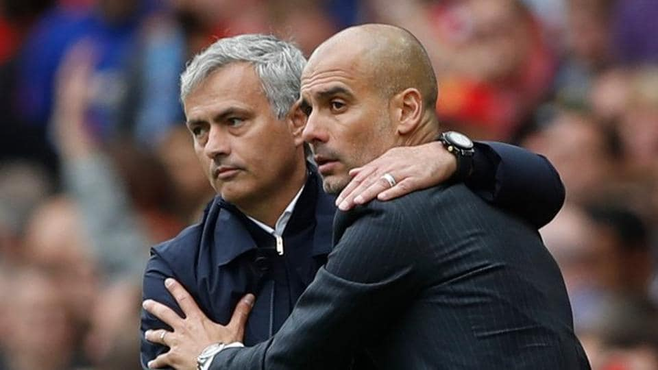 Premier League,Pep Guardiola,Jose Mourinho
