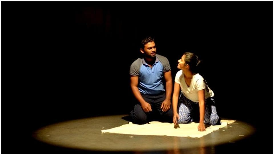 Pune Aasakta theatre group in action.