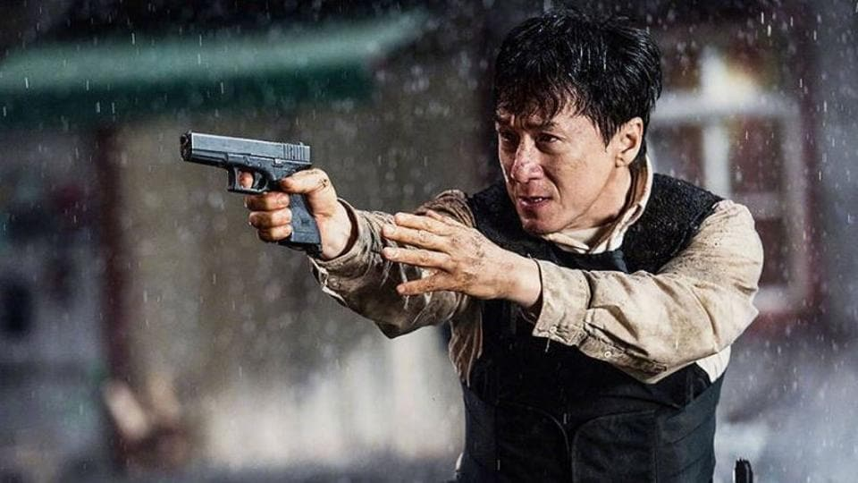 Jackie Chan isn't agile anymore.