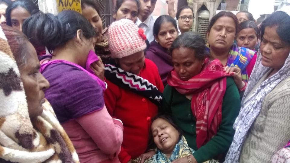 Saxena's mother Kamlesh said she did not expect the bystanders to fight for her son but she refused to forgive the apathy of the onlookers even after her son's throat was slashed