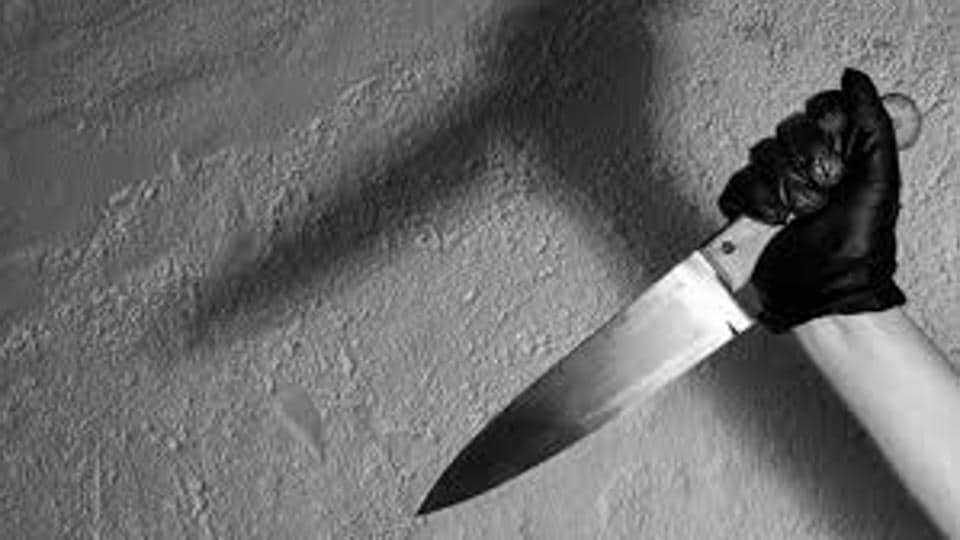 A 75-year-old woman was found dead with her throat slit in the bathroom of her apartment in Goregaon on Wednesday.
