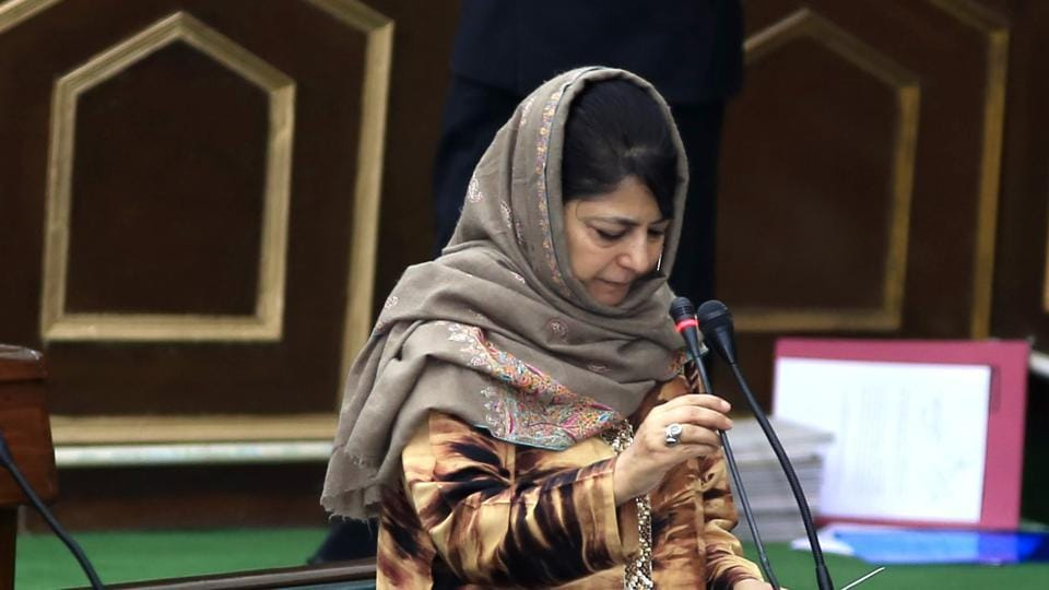 Mehbooba defends Army's counter FIR in Shopian firing