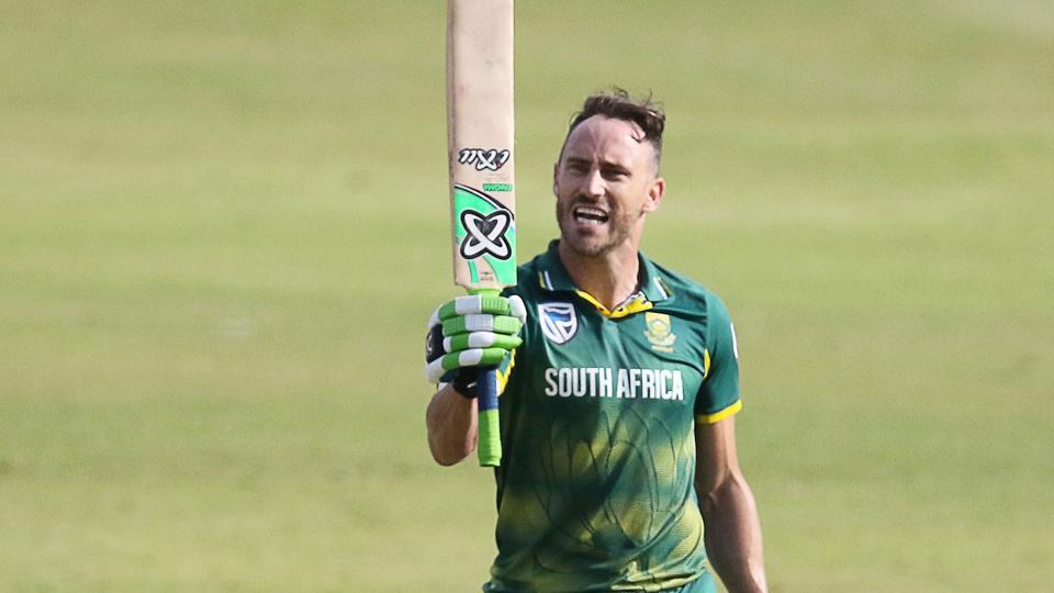 South Africa's injury troubles have mounted with the exit of Faf du Plessis, who scored a ton against India in the first ODI. (BCCI)