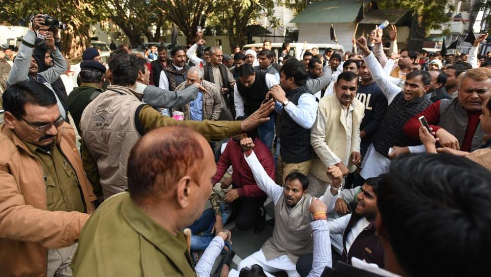 Farmers had held a massive protest outside the authority's office in  Sector 6 on January 8.