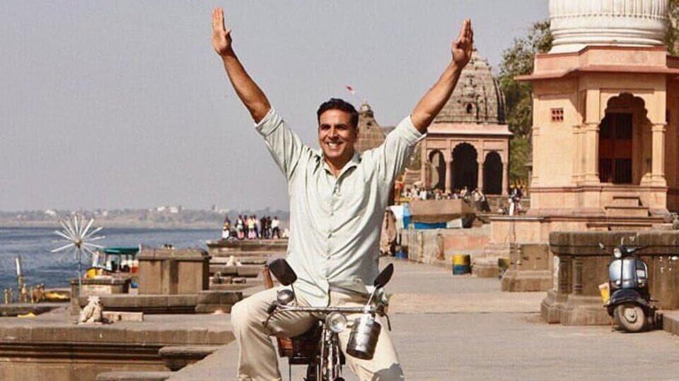 Akshay Kumar plays the lead role in PadMan.