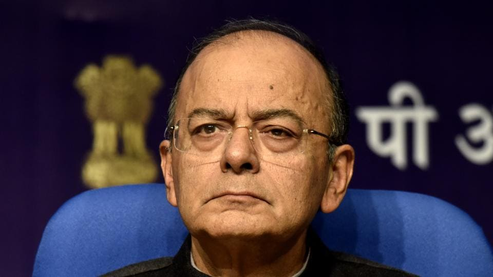 Finance minister Arun Jaitley on Friday defended not giving away major relief to the middle class in the Union Budget, saying the government has already done enough in the past budgets and will further provide succour in the future depending on fiscal space. (Mohd Zakir / HT Photo)