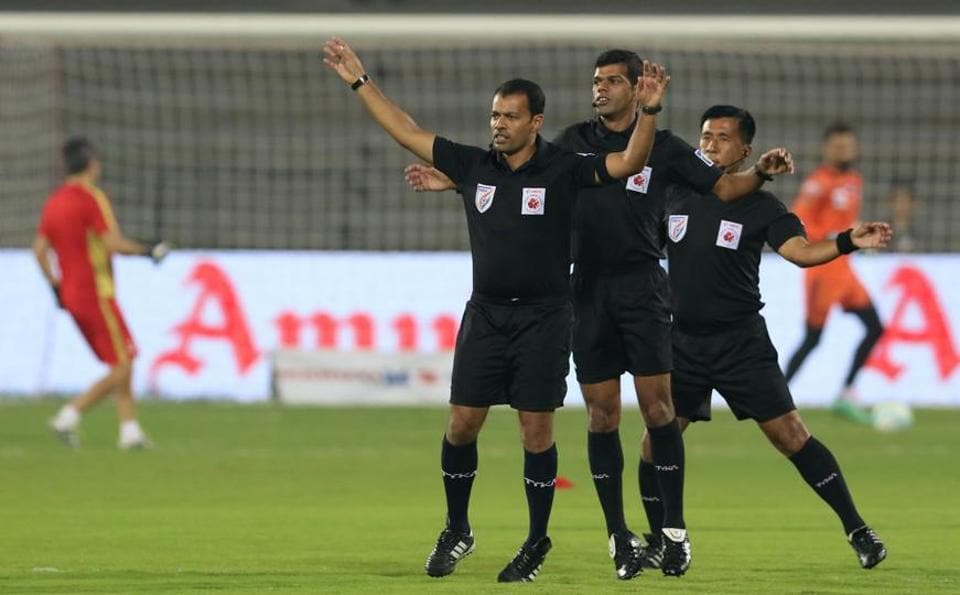 Referees have come under fire from coaches in the Indian Super League this season.