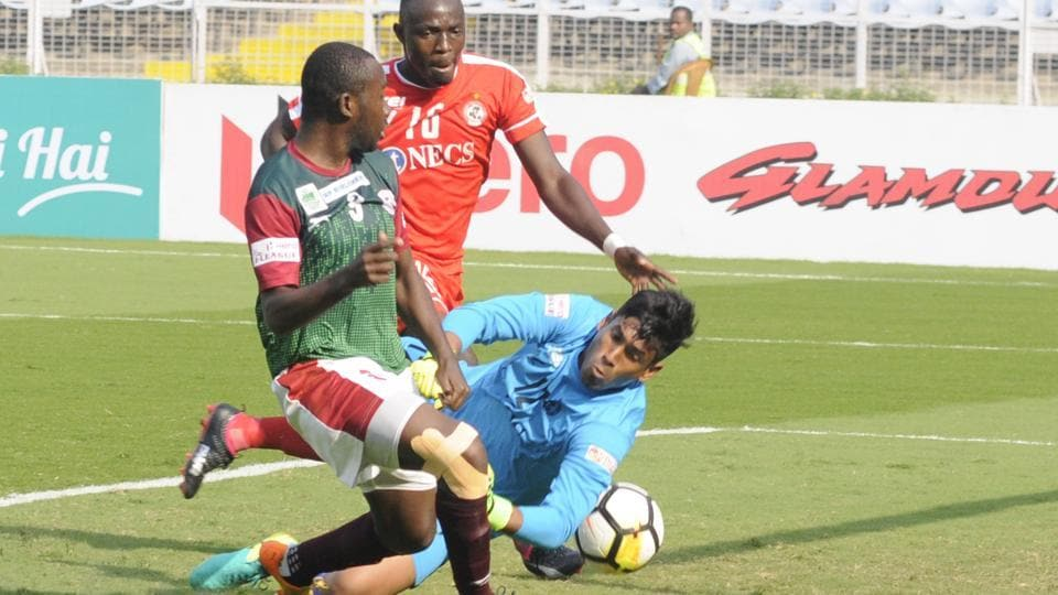 Mohun Bagan will face Shillong Lajong in the I-League on Saturday.